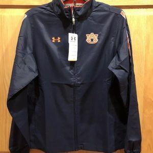 New Auburn Tigers Under Armour Womens Jacket Small